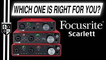 Focusrite Scarlett Solo vs 2i2 vs 4i4: BEST AUDIO INTERFACE UNDER $200
