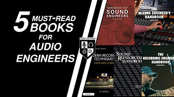 5 Must-Read Books for Audio Engineers