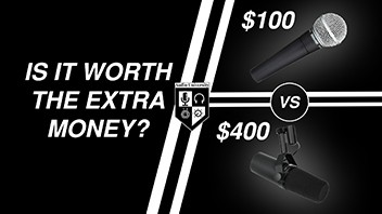 SHURE SM7B vs SHURE SM58: Is the SM7B worth the extra money?