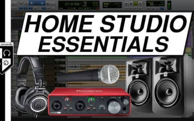 HOME STUDIO ESSENTIALS (for Beginners on a Budget)