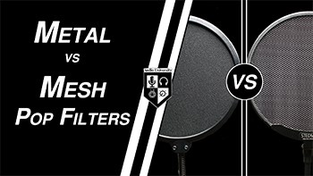 5 Differences Between Metal & Nylon Fabric Pop Filters
