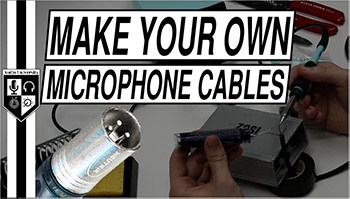 How to Make & Repair XLR Microphone Cables: DIY Tutorial
