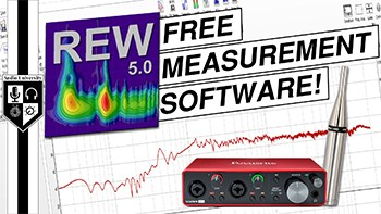 FREE Acoustical Measurement Software: Room EQ Wizard (REW)