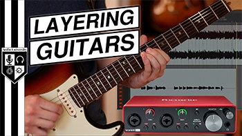 Recording Guitar Overdubs – 4 Simple Steps