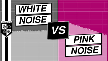 White Noise vs Pink Noise [Audio Engineering & Music Production]